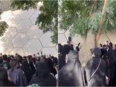 """شاهد: حماس وهتاف الجماهير أثناء """"بروفة"""" فرقة BTS في محيط استاد الملك فهد"""