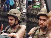 شاهد: ردة فعل مؤثرة لجندي بالجيش اللبناني خلال عزف النشيد الوطني في إحدى المظاهرات!