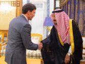 بالصور: خادم الحرمين يستقبل وزير الدفاع الأمريكي ويستعرضان أوجه التعاون بين البلدين