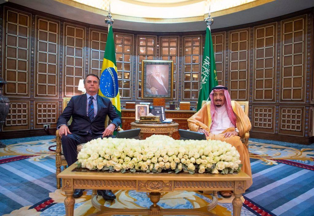بالصور.. خادم الحرمين ورئيس البرازيل يشهدان تبادل أربع اتفاقيات تعاون بين البلدين