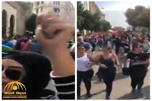 لبنان تغلي.. شاهد: المظاهرات تتواصل والحريري يستعد لإلقاء كلمة!