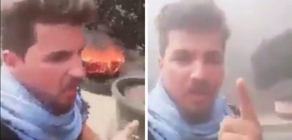 """""""يا عالم ناديتك فاسمع"""".. شاهد: محتج عراقي يخطف الأضواء بقصيدة معبرة وصوت شجي!"""