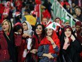 """شاهد بالصور : إيران تخضع لتهديد الاتحاد الدولي """"الفيفا"""" وتسمح للنساء بدخول الملاعب"""
