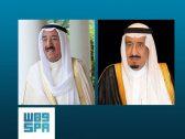 """خادم الحرمين يجري اتصالا هاتفيا بـ""""أمير الكويت"""""""