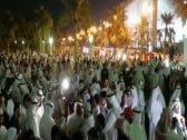 """شاهد: اعتصام كويتيين في """"ساحة الإرادة"""" ومطالبات باستقالة الحكومة ومجلس الأمة"""
