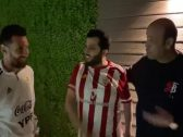 """شاهد: """"تركي آل الشيخ"""" ينشر فيديو  جديد من منزله  برفقة ميسي وعمرو أديب"""
