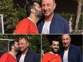 """شاهد: """"تركي آل الشيخ"""" يفاجئ متابعيه بصور له من داخل منزل """"الخطيب"""" بالقاهرة"""