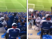 شاهد.. مشجع مسن يرقص  على أنغام  الموسيقى  في مدرجات مباراة الهلال ضد أوراوا