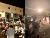 بالفيديو.. انفجار غامض بأحد المنازل في الدمام