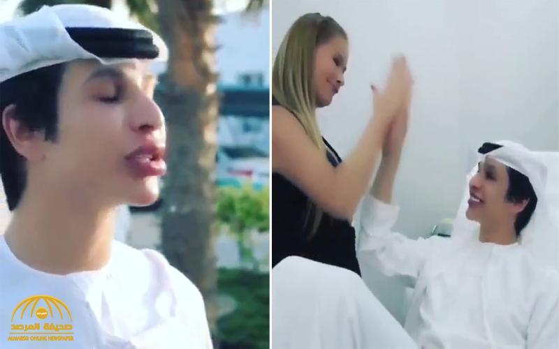 شاهد : إعلان لعيادة تجميل يظهر شاباً بشفاه منتفخة يثير الجدل في الإمارات