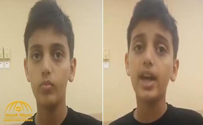 بعدما نال صوته إعجاب الكثيرين .. شاهد : أول فيديو للطفل الذي أمَّ المصلين في مباراة الهلال وأوراوا  .. والكشف عن هويته