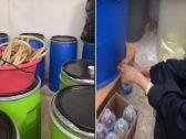 شاهد: امرأة تدير مصنع للخمور بالرياض.. والكشف عن كيفية تضليلها لسكان المنطقة