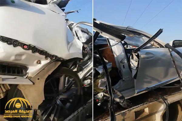 شاهد : حادث مروع لامرأة تقود سيارة بجازان وبرفقتها شقيقتها .. والكشف عن مصيرهن