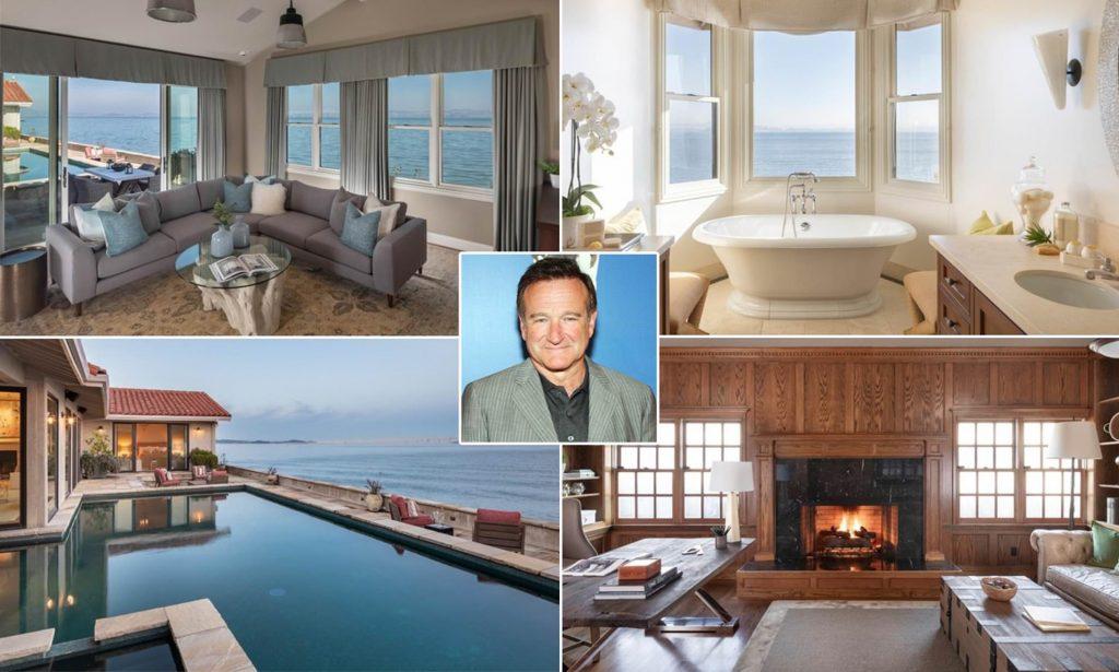 """بالصور .. عرض منزل الممثل المنتحر """"روبن ويليامز""""  المطل على خليج """"سان فرانسيسكو"""" للبيع والكشف عن سعره"""