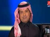 """فيديو.. مفاجأة من تركي آل الشيخ لـ """"راشد الماجد"""" أثناء حفل ليلة السندباد بالرياض"""
