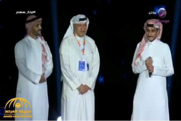 """فيديو.. تركي آل الشيخ : مدري وش لاقين في أعمال سهم أنا أشوف أعمالي أحسن منه.. و""""الأمير"""" يرد !"""