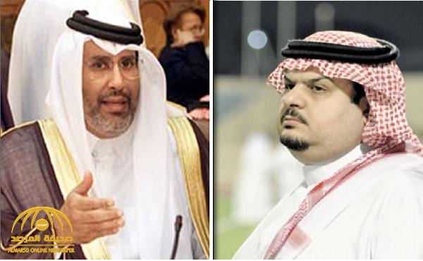 """عبد الرحمن بن مساعد يرد على """"حمد بن جاسم"""": فعلا الثقة مهزوزة.. وأول أسباب اهتزازها تسجيلك مع القذافي"""
