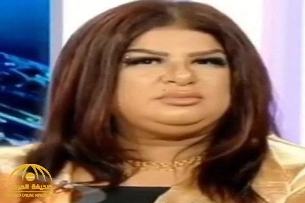 بسبب وزنها الزائد .. بالفيديو  : فنانة كويتية تتعرض لموقف محرج على الهواء