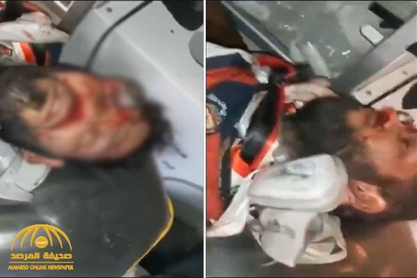 ليس لأصحاب القلوب الضعيفة .. شاهد : فيديو صادم لقنبلة تخترق رأس متظاهر عراقي في بغداد