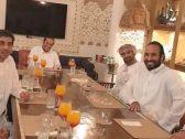 المرصد تكشف حقيقة صورة متداولة تجمع الأمير محمد بن سلمان ووزير خارجية قطر