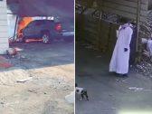 بالفيديو : احتراق غامض لسيارة في حي السنابل بجدة .. ولغز بشأن الملثم الذي صورته الكاميرات
