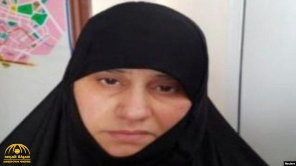 """بعد أيام من اعتقال شقيقته .. شاهد: أول صورة  لزوجة  """"البغدادي"""" قبض عليها بمنطقة خاضعة للسيطرة التركية!"""