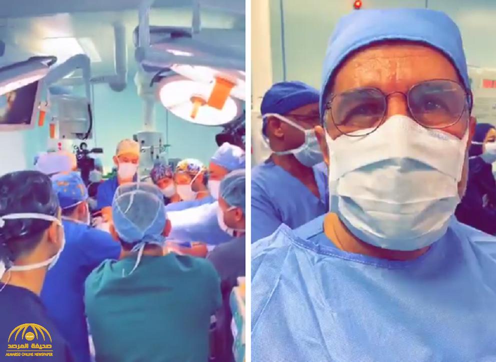 """شاهد … كيف رد الدكتور الربيعة على فايز المالكي عندما سأله في غرفة العمليات """" بتحب تشوف الدم؟"""""""