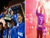 شاهد .. صور جديدة من  احتفال  فريق الهلال في الدرعية بعد فوزه ببطولة آسيا