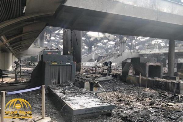 شاهد.. صورة تظهر آخر تطورات حادث حريق محطة قطار الحرمين بجدة.. والكشف عن حجم الضرر الحقيقي !