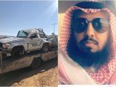 وفاة رئيس هيئة الأمر بالمعروف بمحافظة ظهران الجنوب بعد انقلاب مروع  بسيارة الهيئة-صورة