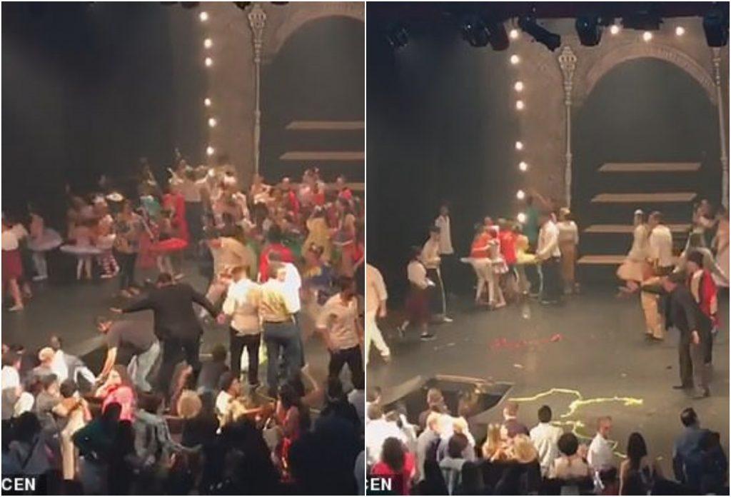 شاهد: نهاية غير متوقعة لحفل مجموعة من الراقصين في البرازيل!