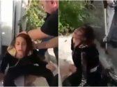 """شاهد : إيرانية تنهار أمام أحد السجون بعد الحكم على والدها بالإعدام.. """"اقتلوني بدلاً منه""""!"""