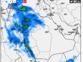 """""""المسند"""" يعلن استمرار الحالة المطرية """"غيث"""".. ويتوقع سقوط الأمطار على هذه المناطق!"""
