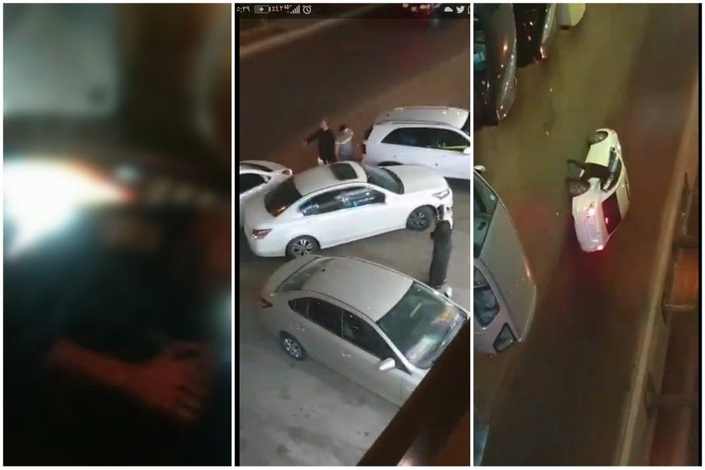 """شاهد: لصوص  يسرقون  جوال """"آيفون جديد""""  من مندوب  """"مرسول""""  والأخير يتمكن من تصوير  وجه أحدهم"""
