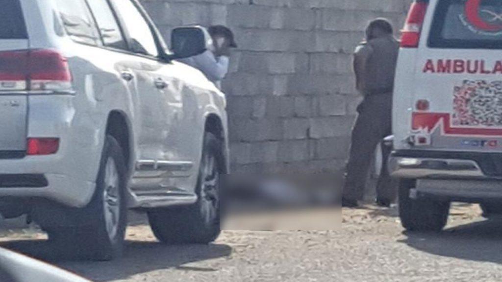 الجهات  الأمنية  تفكّ غموض سبب وفاة طفل شنقا بجانب مدرسة في أبو عريش!
