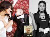 """شاهد: طليقة ملك ماليزيا السابق تنشر صوراً جديدة لها ولطفلها.. وتعلق: """"إسماعيل هو نسخة منك""""!"""