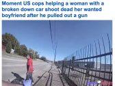 شاهد: شرطي أمريكي يقتل رجلاً خلال مساعدته لسيدة علقت سيارتها في ولاية أوكلاهوما.. ومفاجآت في تحقيقات القضية!