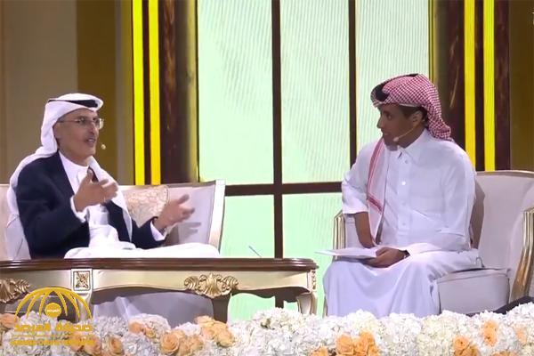 """هل تذكرون أغنية """"عطني المحبة""""؟.. بالفيديو : الأمير """"بدر بن عبد المحسن"""" يروي كواليسها مع """"طلال مداح"""""""