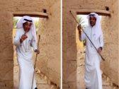 """شاهد:  طريقة شرح """"الزعاق"""" في كيفية معرفة العرب ببداية ونهاية الشتاء !"""