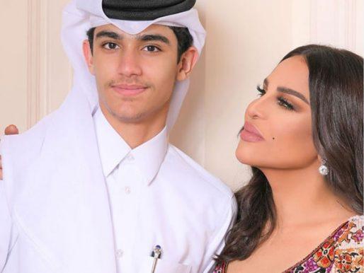 """شاهد … أحلام تظهر مع ابنها """"فاهد"""" بعد حفل عمان وتقول لمتابعيها """" أمنتكم أدعو له """" !"""
