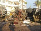 ضحايا لقمة العيش.. شاهد: حادث مروع في مصر يتحول إلى مجزرة ويتسبب بمقتل 21 شخصًا بمحافظة بورسعيد