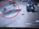 """شاهد ..  فيديو  """"كفر السيارة"""" الذي قتل  شخص يقف بجانب مغسلة بـ""""حي الشرائع"""" بمكة"""