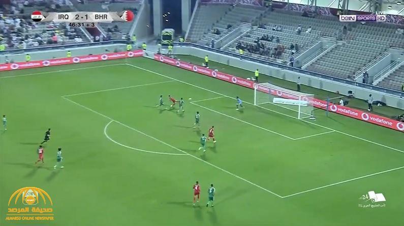 """بالفيديو : البحرين تتأهل لنهائي """"خليجي 24"""" بركلات الترجيح أمام العراق"""