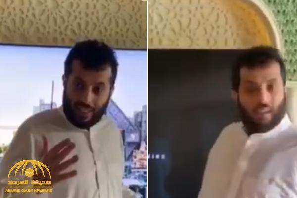 """بعد عودته للرياض.. شاهد: """"تركي آل الشيخ"""" يكشف عن إنجاز ضخم يحدث خلال 4 أيام بالرياض"""