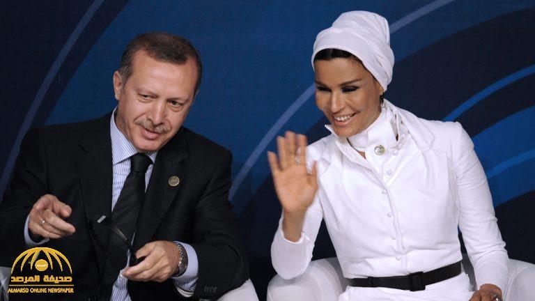"""موقع تركي يكشف عن """"صفقة سرية"""" بين أردوغان والشيخة موزة"""