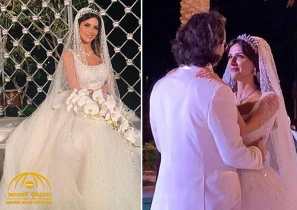 """في فستان زفاف لفت الأنظار.. شاهد: لقطات من حفل زفاف الإعلامية السعودية """"سها نويلاتي"""""""