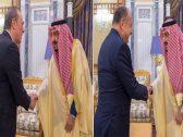 بالصور .. سفيرا إيطاليا وبريطانيا يودعان خادم الحرمين