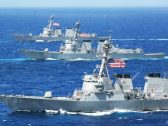 البحرية الأمريكية تضبط شحنة ضخمة من الصواريخ الإيرانية في طريقها للمليشيات الحوثية في اليمن