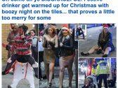 """""""نساء مخمورات بالشوارع ورجال يتعاطون المخدرات"""".. شاهد: أغرب احتفالات البريطانيين بـ """"الكريسماس"""" !"""