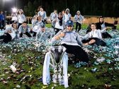 """بالفيديو والصور.. شاهد:  فريق """"جدة إيغلز"""" يتوج ببطولة أول دوري نسائي لكرة القدم بالمملكة"""